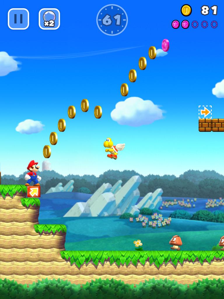 androidアプリ スーパーマリオラン(Super Mario Run)攻略スクリーンショット3