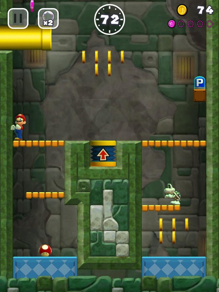 androidアプリ スーパーマリオラン(Super Mario Run)攻略スクリーンショット5