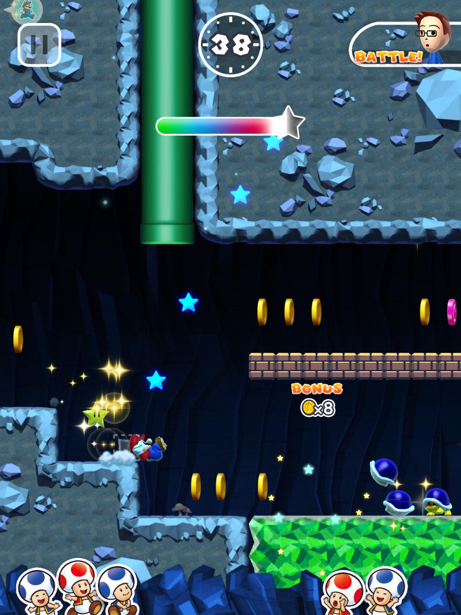 androidアプリ スーパーマリオラン(Super Mario Run)攻略スクリーンショット6