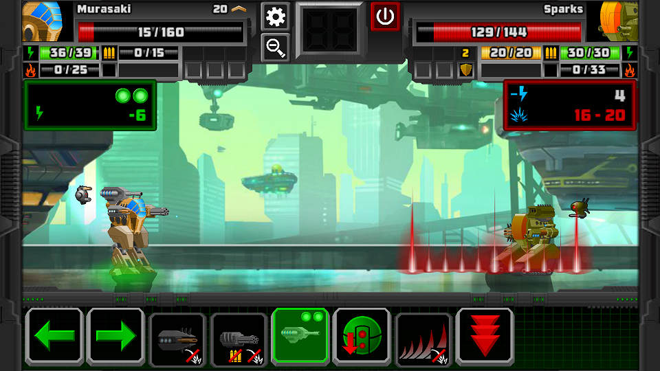 Super Mechs androidアプリスクリーンショット1