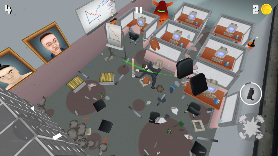 Super Smash the Office(Smashy Office) androidアプリスクリーンショット1