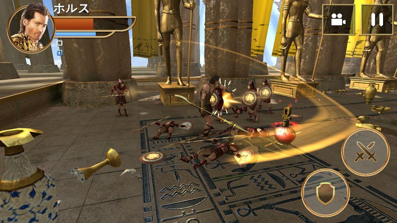キング・オブ・エジプト:消えた王国の秘密 androidアプリスクリーンショット3