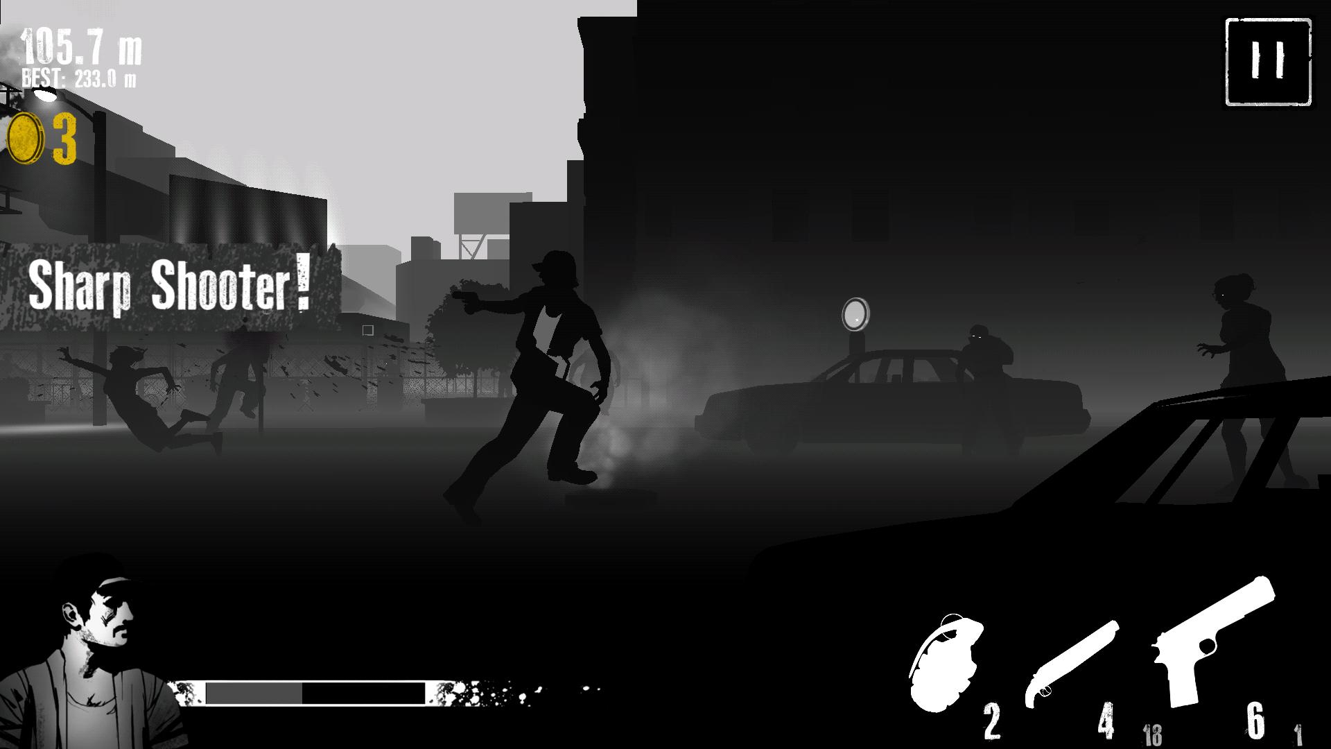 androidアプリ Fear the Walking Dead : Dead Run攻略スクリーンショット2
