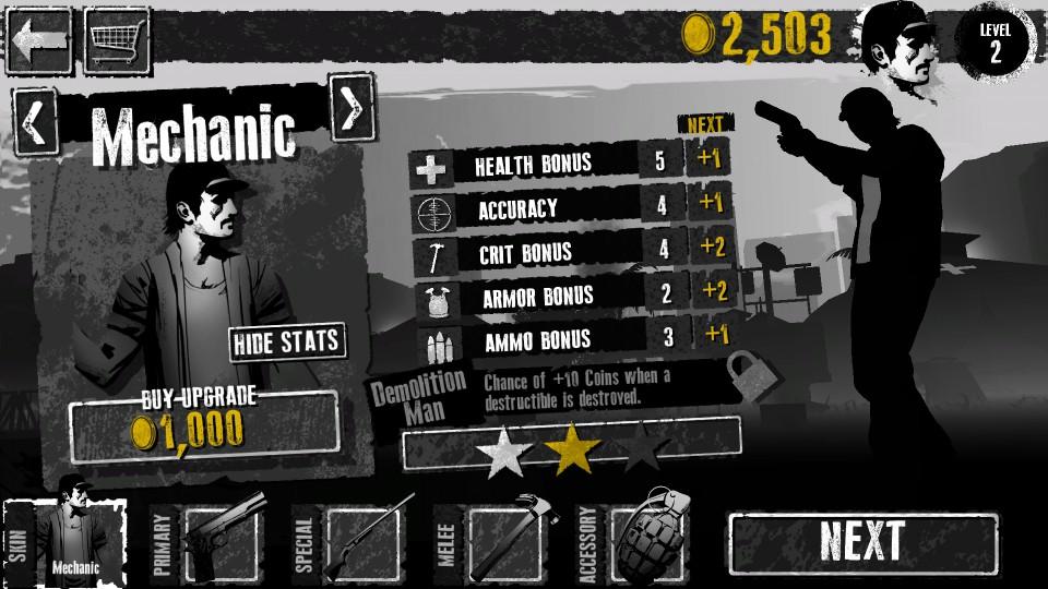 androidアプリ Fear the Walking Dead : Dead Run攻略スクリーンショット7