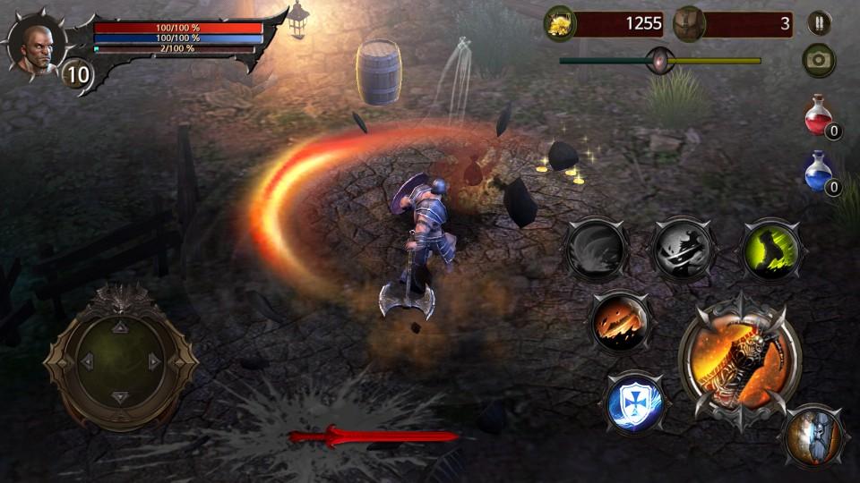 androidアプリ Blood Warrior(ブラッドウォリアー)攻略スクリーンショット3