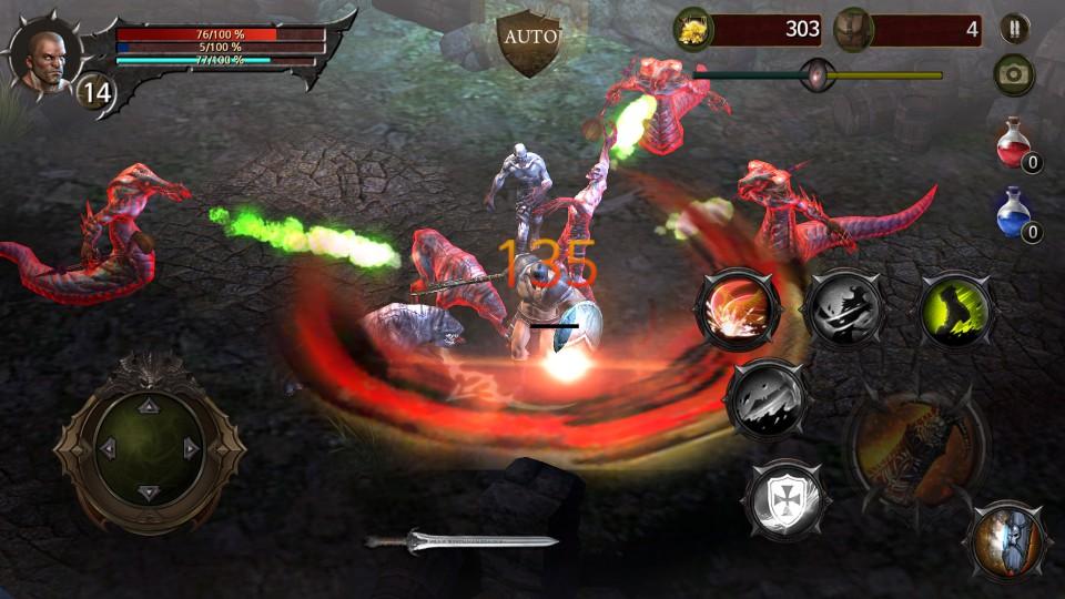 androidアプリ Blood Warrior(ブラッドウォリアー)攻略スクリーンショット4
