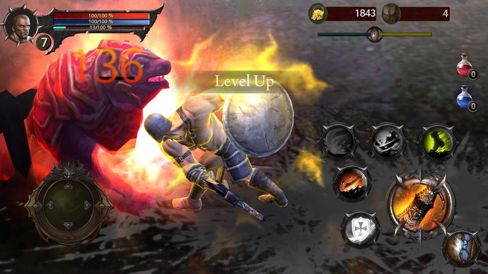 androidアプリ Blood Warrior(ブラッドウォリアー)攻略スクリーンショット5