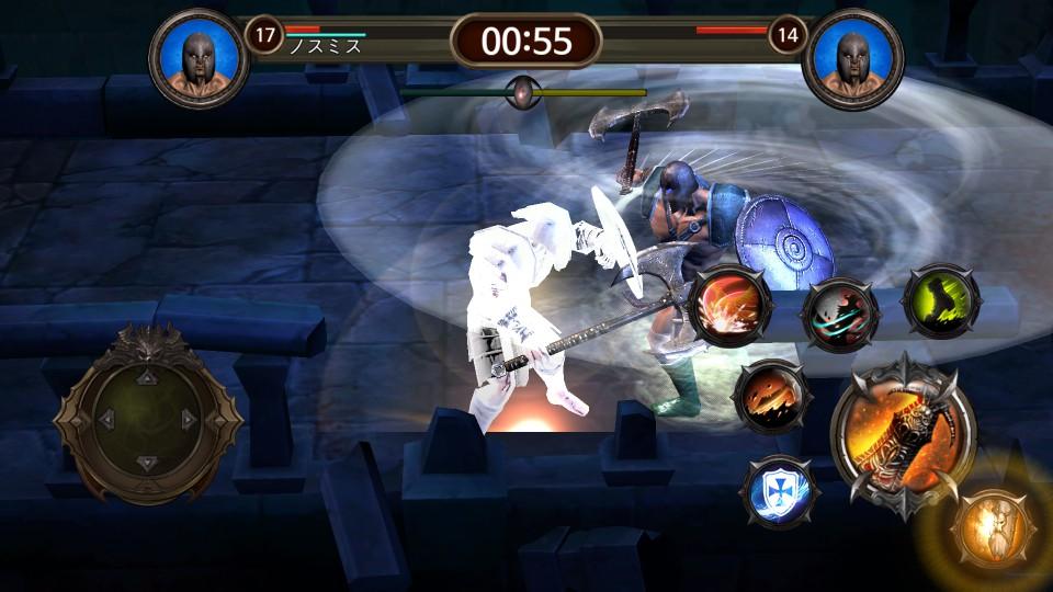 androidアプリ Blood Warrior(ブラッドウォリアー)攻略スクリーンショット6