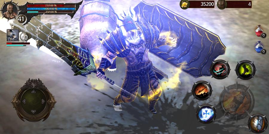 androidアプリ Blood Warrior(ブラッドウォリアー)攻略スクリーンショット8