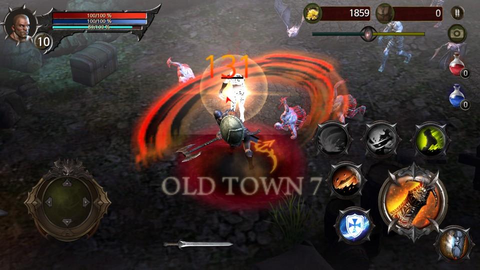Blood Warrior(ブラッドウォリアー) androidアプリスクリーンショット1