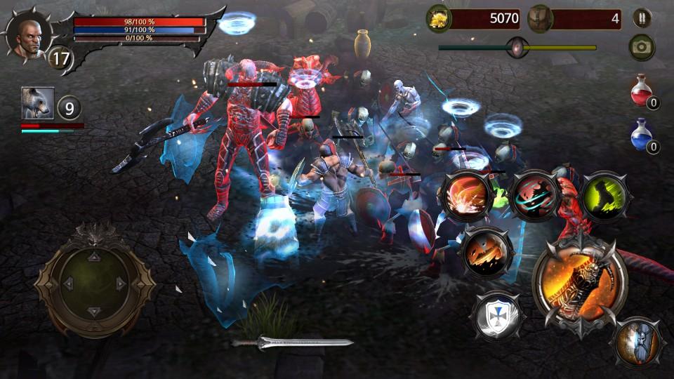 Blood Warrior(ブラッドウォリアー) androidアプリスクリーンショット2