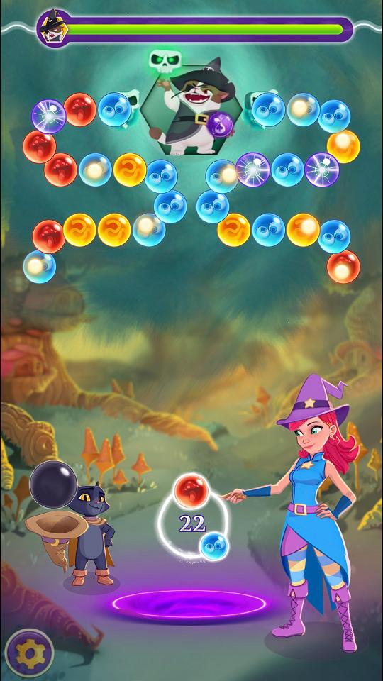 androidアプリ バブルウィッチ3攻略スクリーンショット5