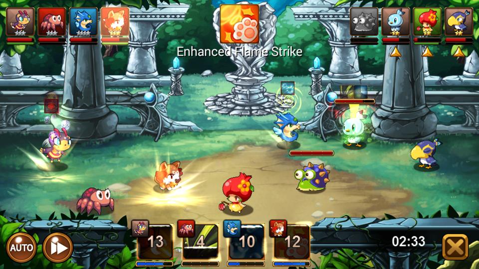 Lucid Sky -Battle Monsters- androidアプリスクリーンショット1