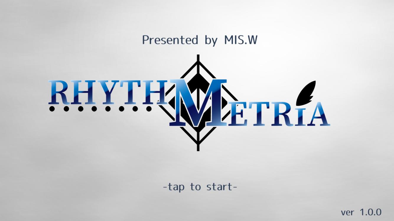 androidアプリ RHYTH-METRIA攻略スクリーンショット1