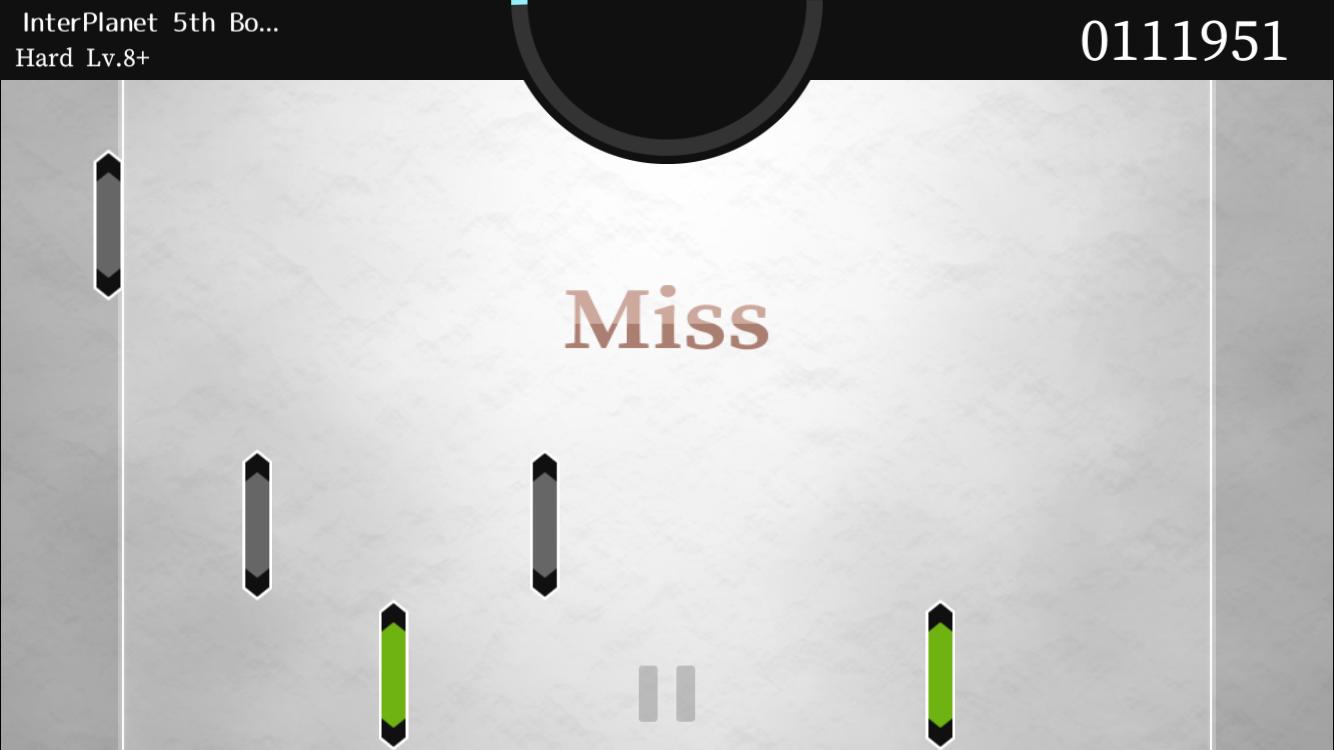 androidアプリ RHYTH-METRIA攻略スクリーンショット3
