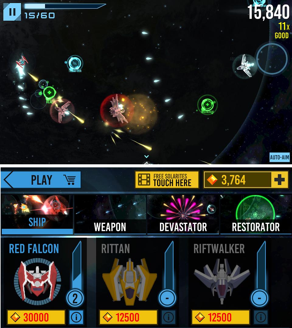 Solar Ascension androidアプリスクリーンショット1