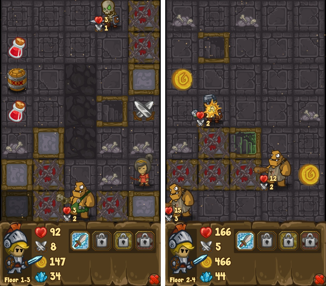 Dungeon Loot: Heroes & Villains androidアプリスクリーンショット1