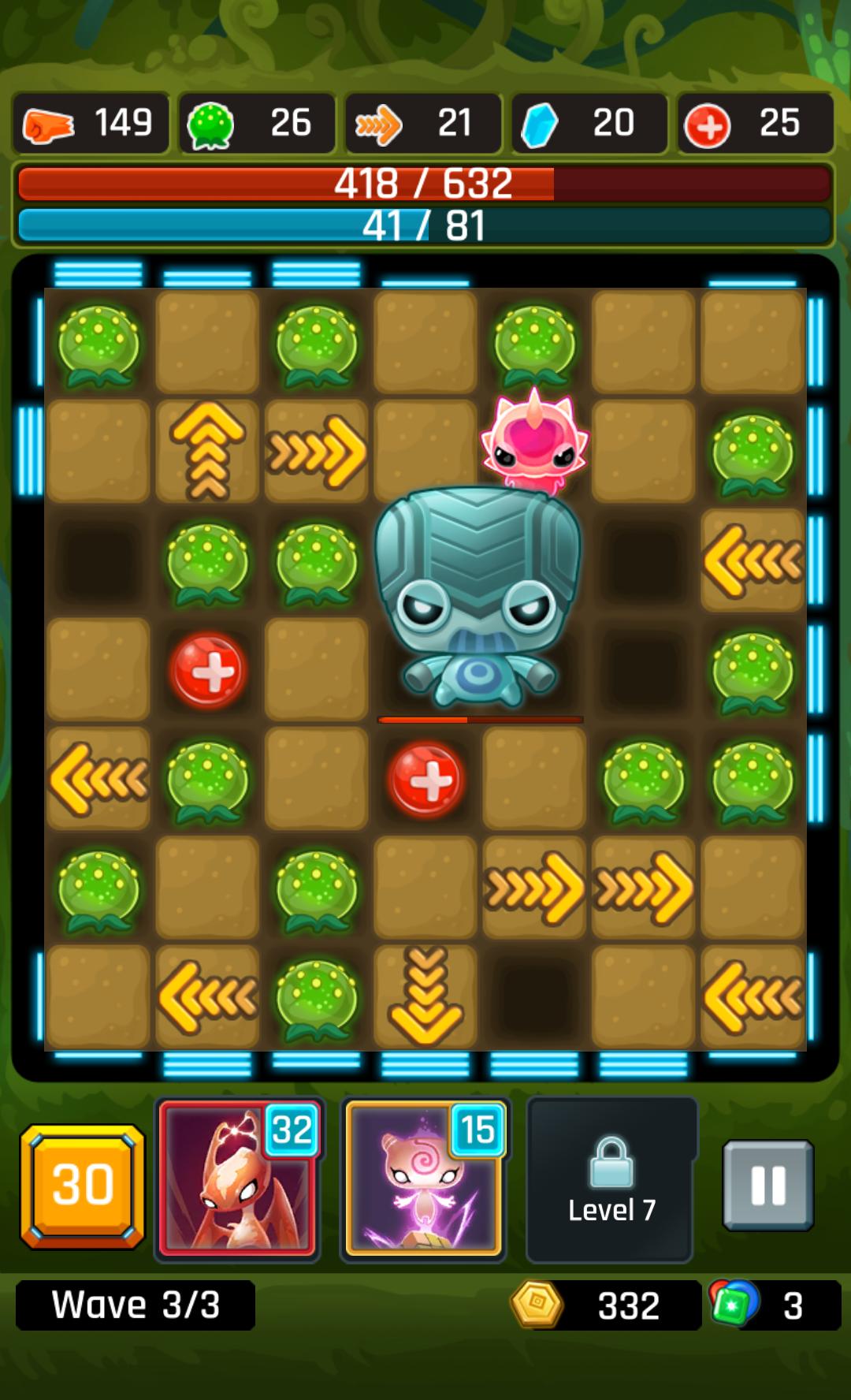 androidアプリ Alien Path攻略スクリーンショット8