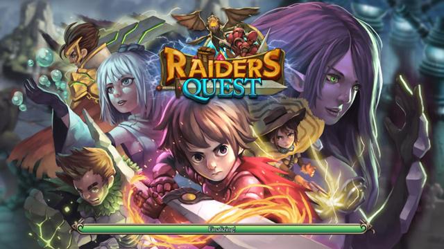 androidアプリ レイダースクエストRPG (Raiders Quest RPG)攻略スクリーンショット1