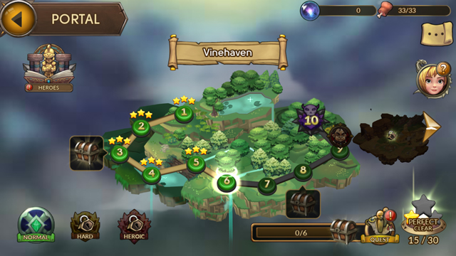 androidアプリ レイダースクエストRPG (Raiders Quest RPG)攻略スクリーンショット2