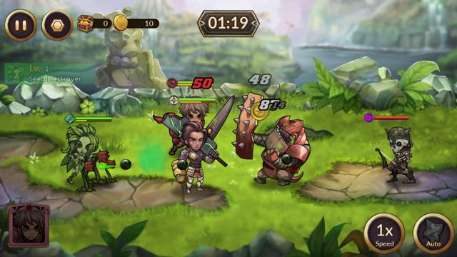 androidアプリ レイダースクエストRPG (Raiders Quest RPG)攻略スクリーンショット3