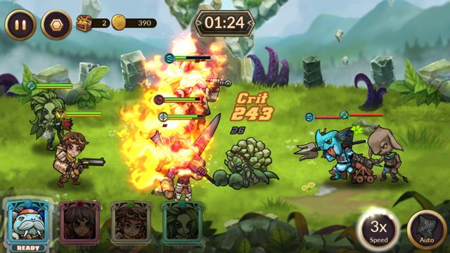 androidアプリ レイダースクエストRPG (Raiders Quest RPG)攻略スクリーンショット4