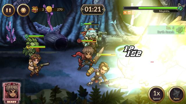 androidアプリ レイダースクエストRPG (Raiders Quest RPG)攻略スクリーンショット5