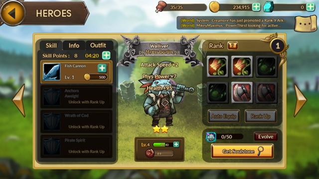 androidアプリ レイダースクエストRPG (Raiders Quest RPG)攻略スクリーンショット7