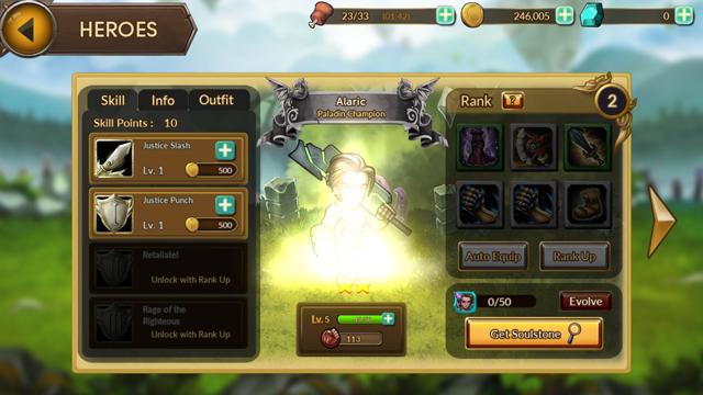 レイダースクエストRPG (Raiders Quest RPG) androidアプリスクリーンショット2