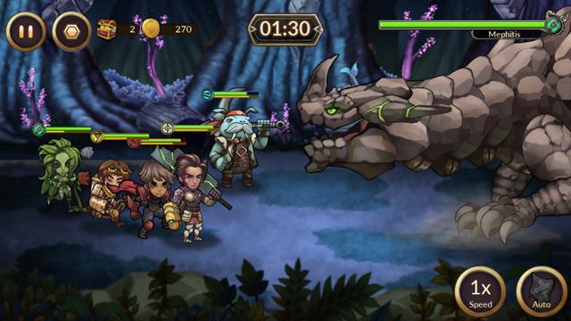 レイダースクエストRPG (Raiders Quest RPG) androidアプリスクリーンショット3