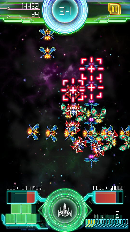 androidアプリ Galaga E.Z.OPERATION攻略スクリーンショット4