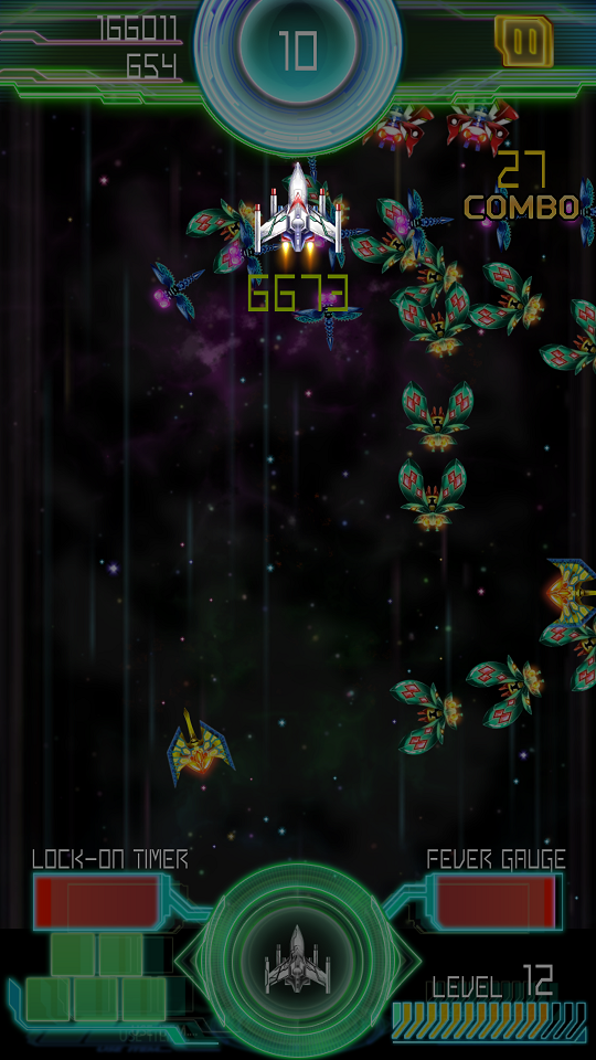 androidアプリ Galaga E.Z.OPERATION攻略スクリーンショット5