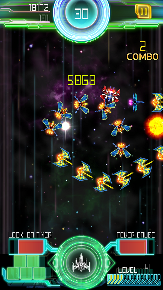 Galaga E.Z.OPERATION androidアプリスクリーンショット2