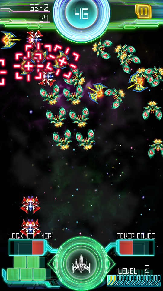 Galaga E.Z.OPERATION androidアプリスクリーンショット3