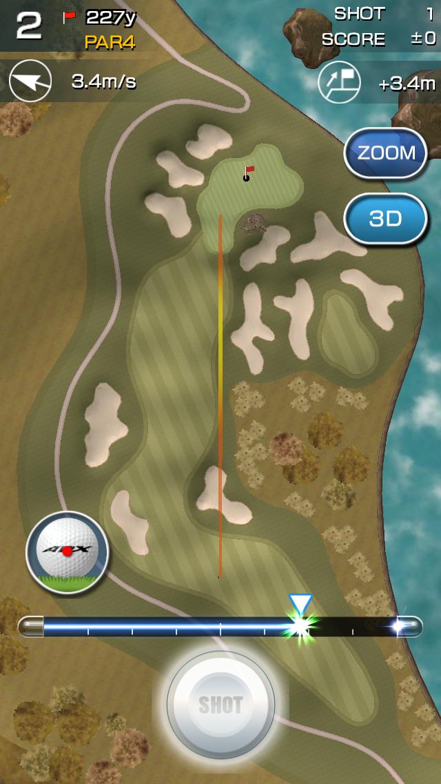 androidアプリ チャンピオンズゴルフ攻略スクリーンショット2