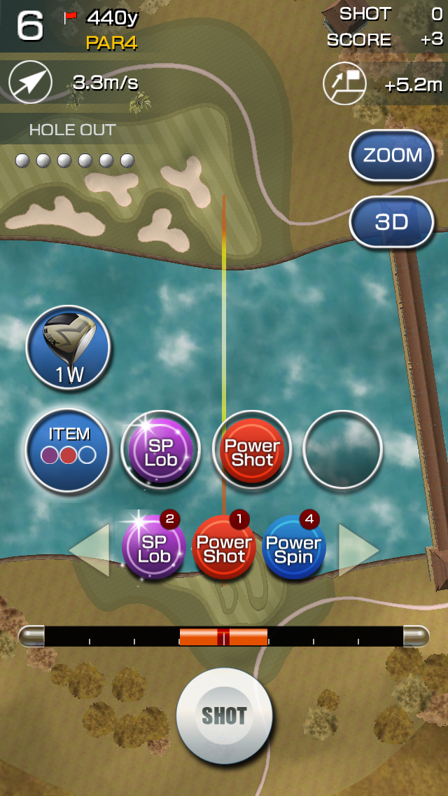androidアプリ チャンピオンズゴルフ攻略スクリーンショット3