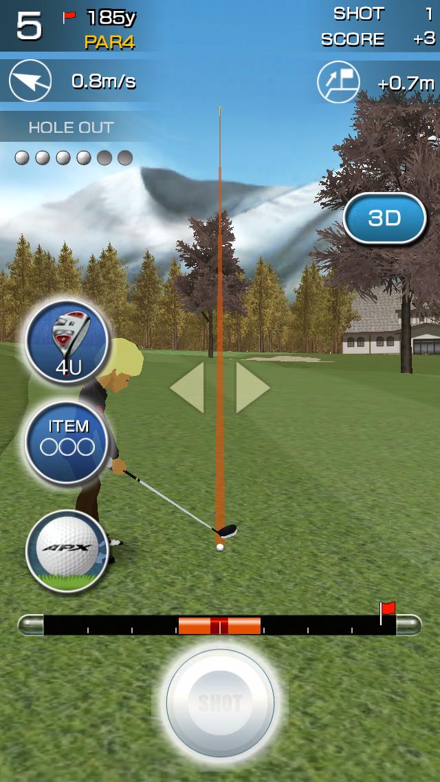 androidアプリ チャンピオンズゴルフ攻略スクリーンショット6