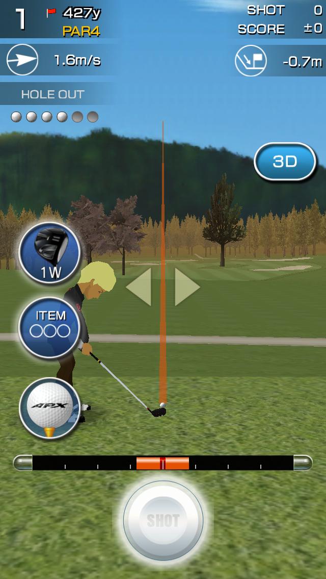 チャンピオンズゴルフ androidアプリスクリーンショット1