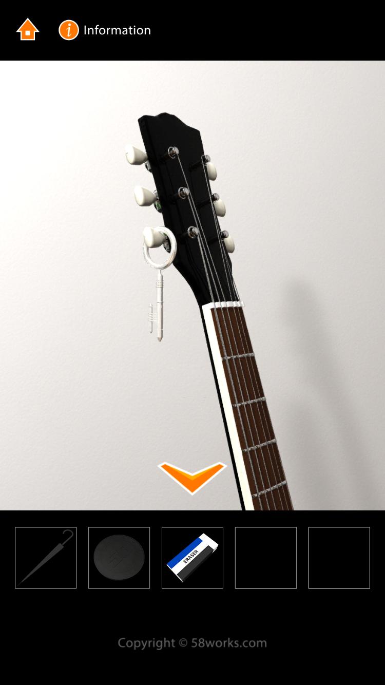 androidアプリ 脱出ゲーム MJ ROOM攻略スクリーンショット4