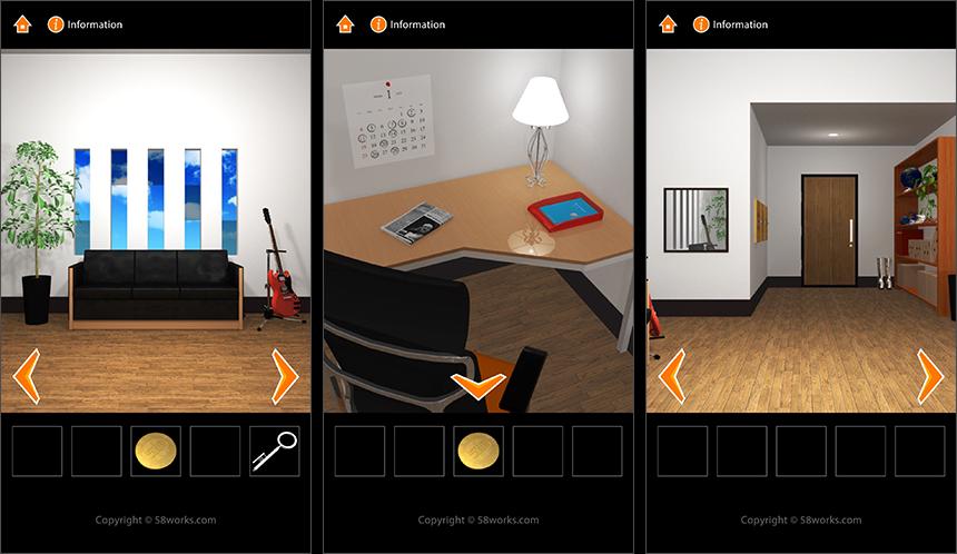 脱出ゲーム MJ ROOM androidアプリスクリーンショット1