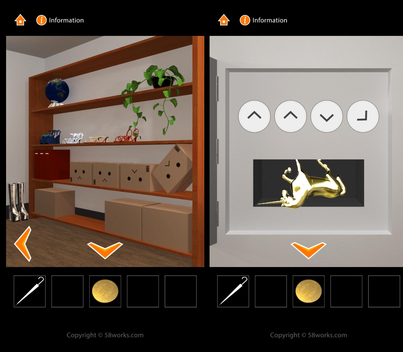 脱出ゲーム MJ ROOM androidアプリスクリーンショット3