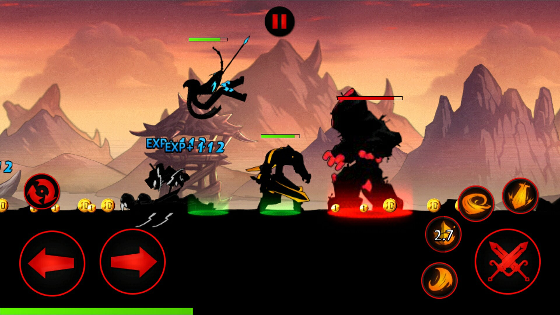League of Stickman Free androidアプリスクリーンショット1