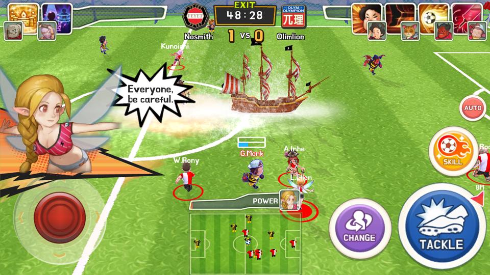 Monster Soccer(モンスターサッカー) androidアプリスクリーンショット1