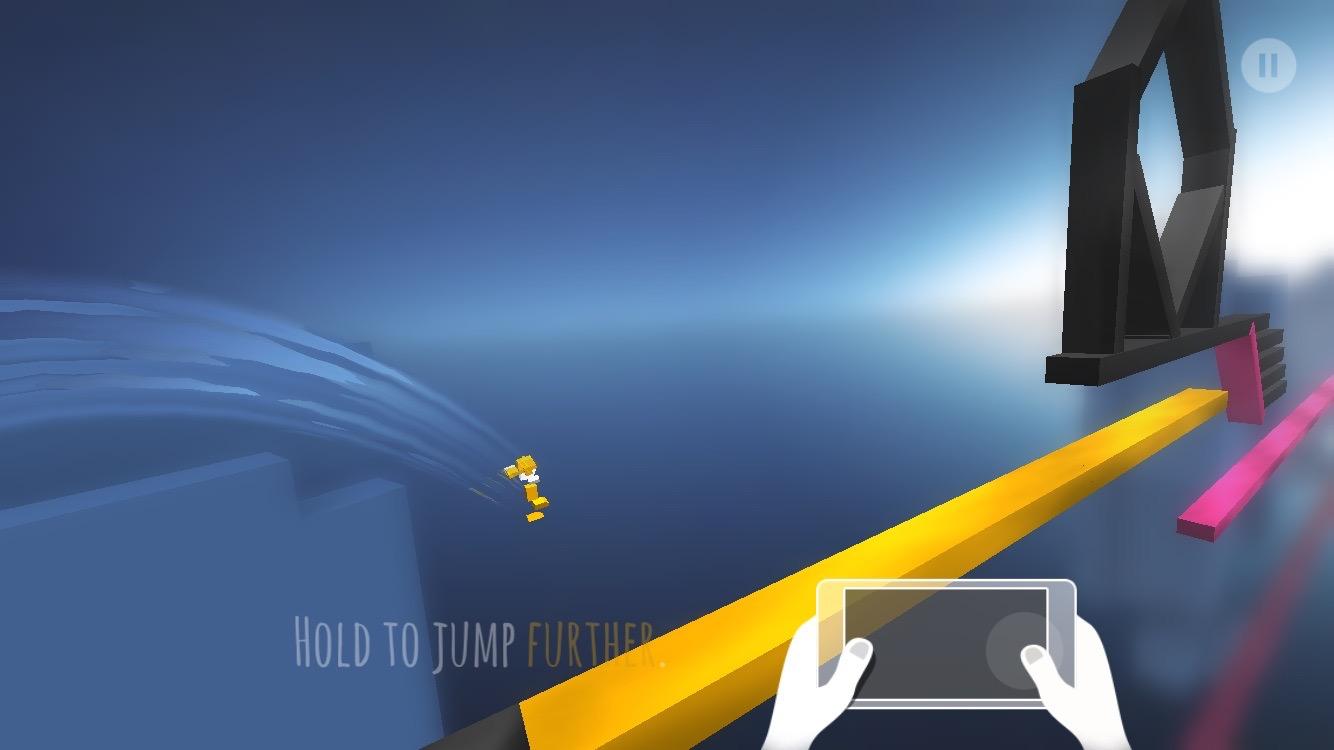 androidアプリ Chameleon Run(カメレオンラン)攻略スクリーンショット1