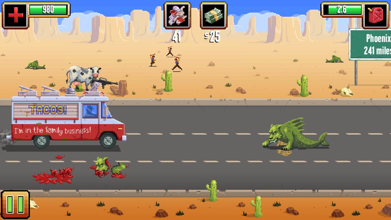 Gunman Taco Truck androidアプリスクリーンショット1