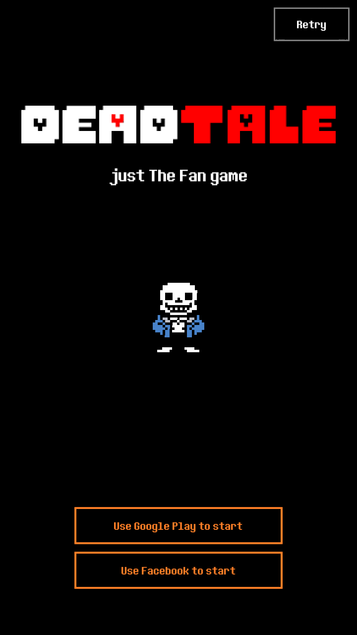 androidアプリ Deadtale Online for Undertale攻略スクリーンショット1