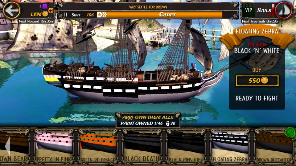 androidアプリ Pirate Quest : Become a Legend攻略スクリーンショット7
