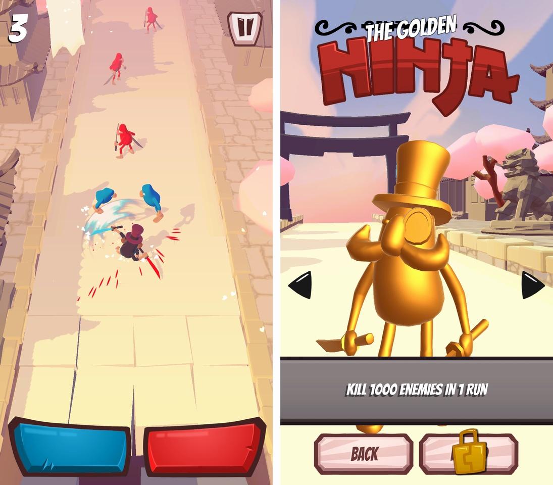 Gentleman Ninja androidアプリスクリーンショット1