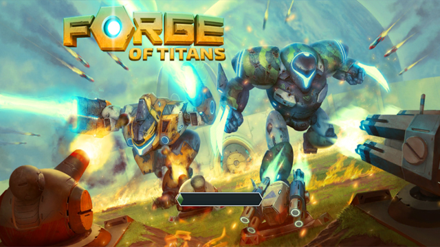 androidアプリ フォージ・オブ・タイタンズ:メックウォーズ(Forge of Titans: Mech Wars)攻略スクリーンショット1