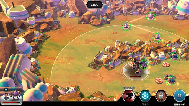 フォージ・オブ・タイタンズ:メックウォーズ(Forge of Titans: Mech Wars) androidアプリスクリーンショット3